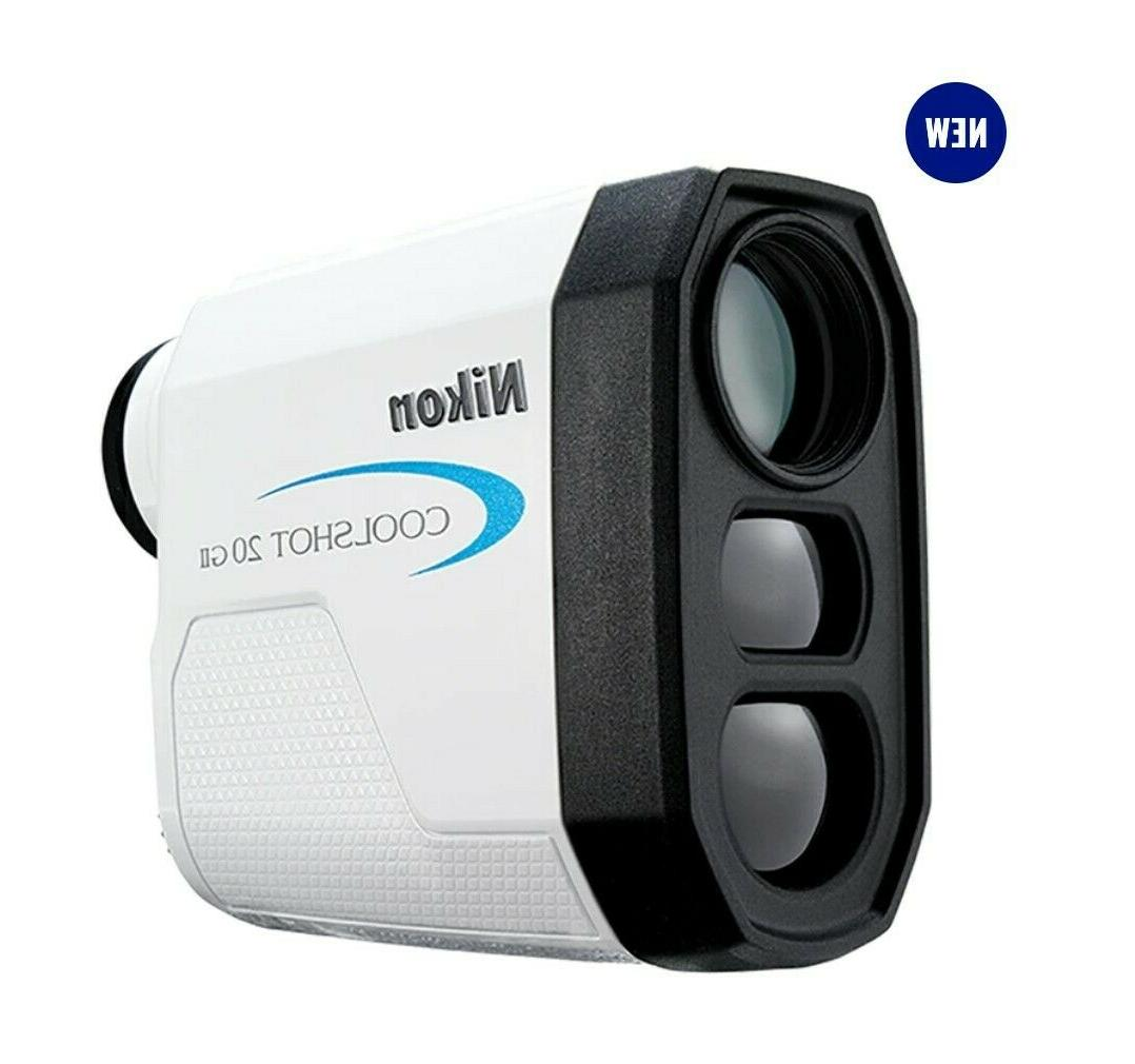 coolshot 20 gii golf laser rangefinder white
