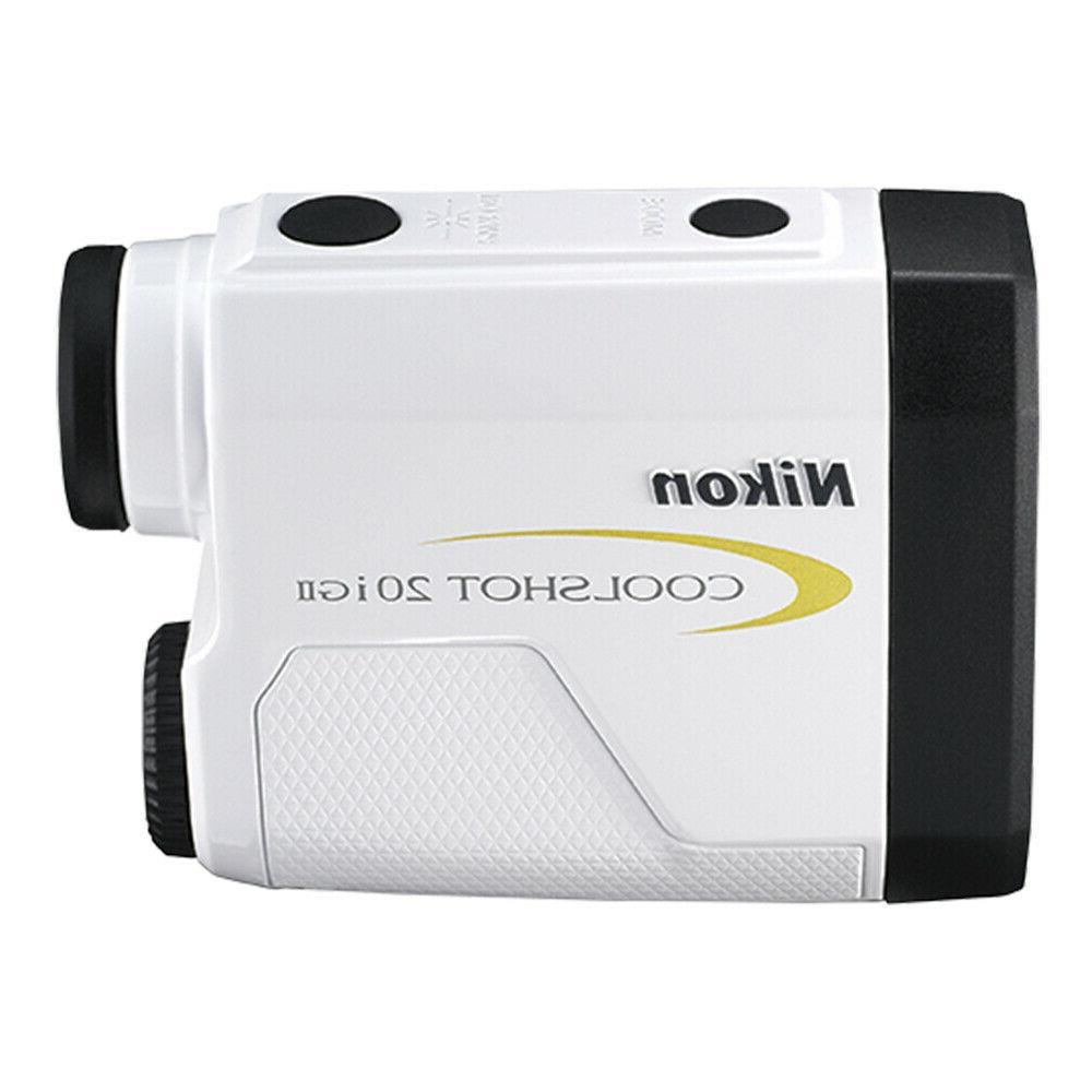 Nikon 20i GII Golf Laser Rangefinder Slope-Adjusting