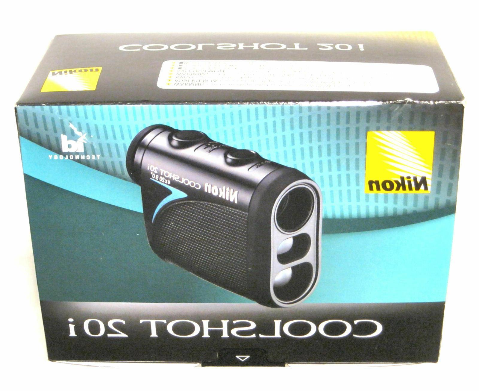 Nikon 20i Laser Rangefinder id Technology