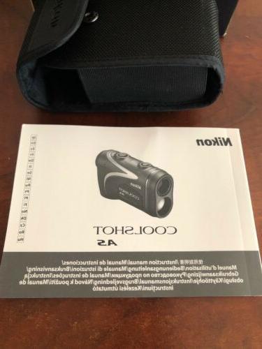 Nikon Coolshot AS Golf Laser