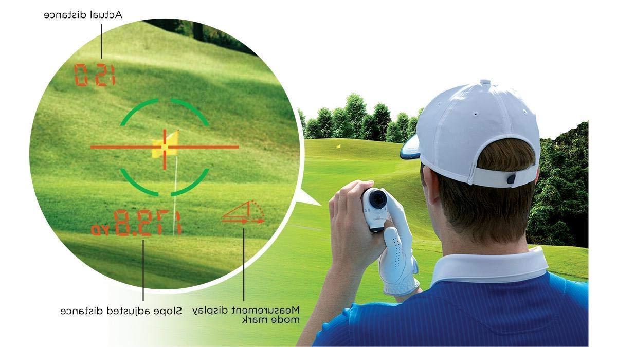 Nikon Stabilized Golf Laser Rangefinder | CART MOUNT