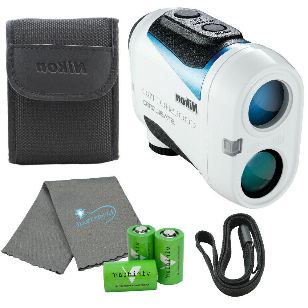 coolshot pro stabilized golf rangefinder w 3