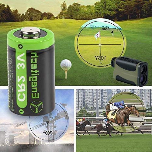 Enegitech 3V Battery 800mAh with for Pointer Instax Flashlight