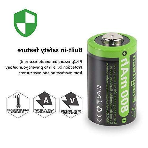 Enegitech Battery 800mAh with PTC Protection for Laser Laser Pointer Instax