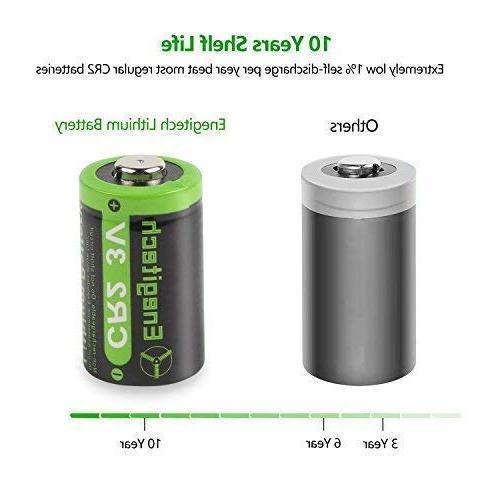 Enegitech Lithium Battery 6 with PTC for Boresighter Pointer Rangefinder Flashlight