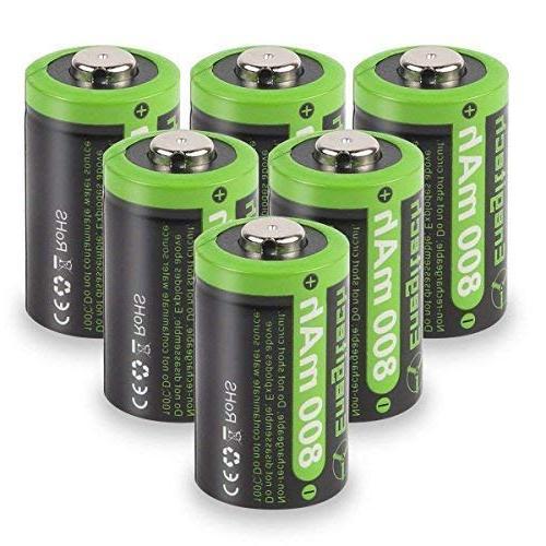 cr2 3v lithium battery 800mah 6 pack