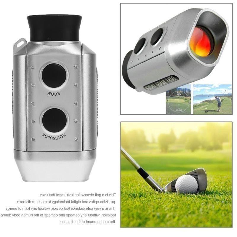 digital 7x pocket golf range finder electronic
