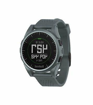 excel gps golf rangefinder watch silver