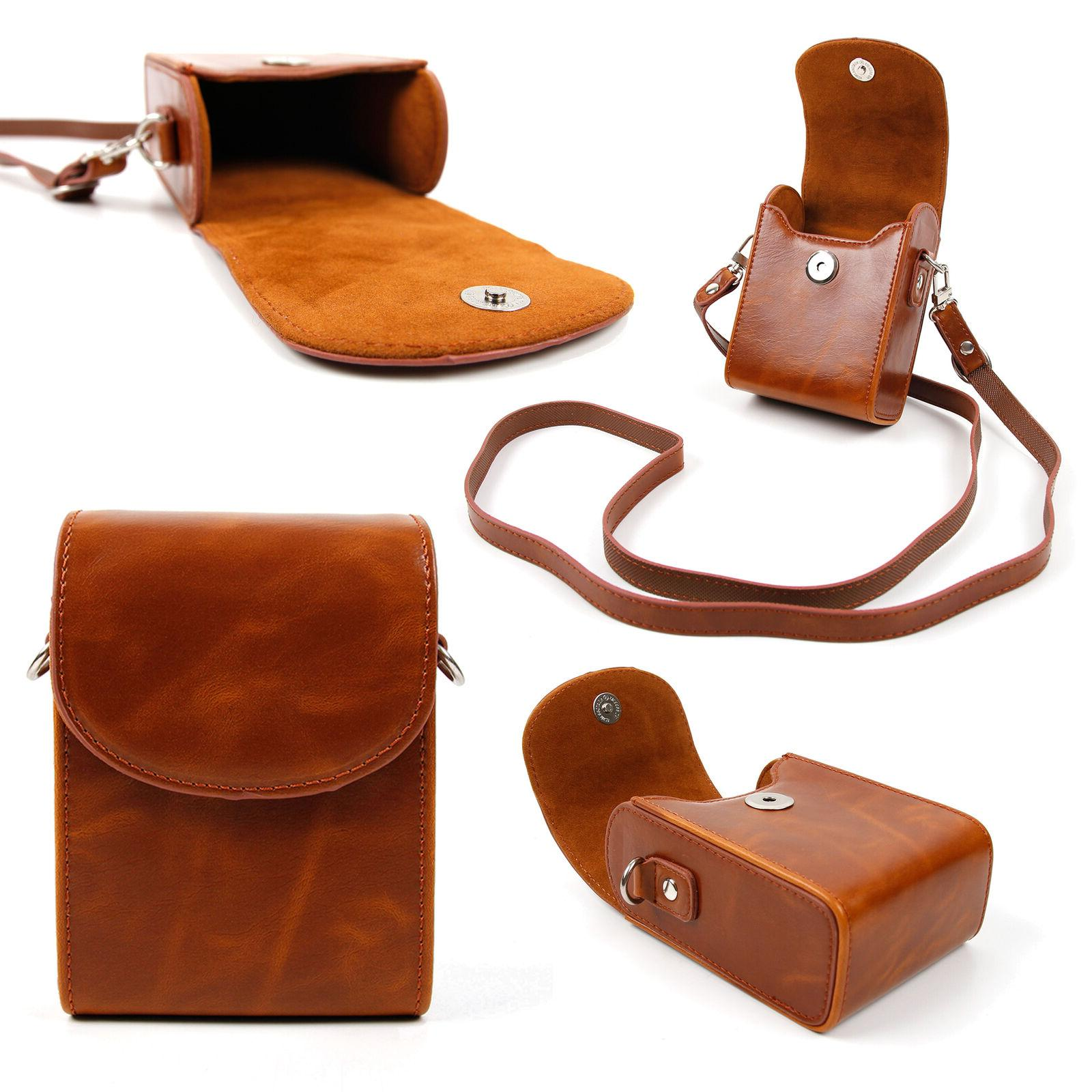 faux leather brown case for bushnell tour