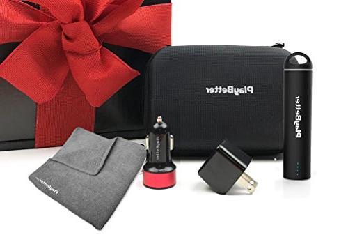 Garmin Approach Z80 Golf Rangefinder Gift Bundle | with PlayBetter Charger, USB & | Hybrid GPS/Laser, Slope, Legal Black Box