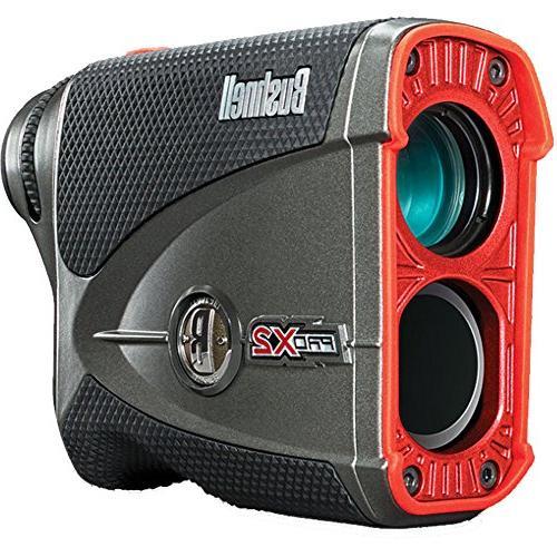 Bushnell Pro Laser GIFT | Golf with Case, Ball Marker Hat Set Two Batteries