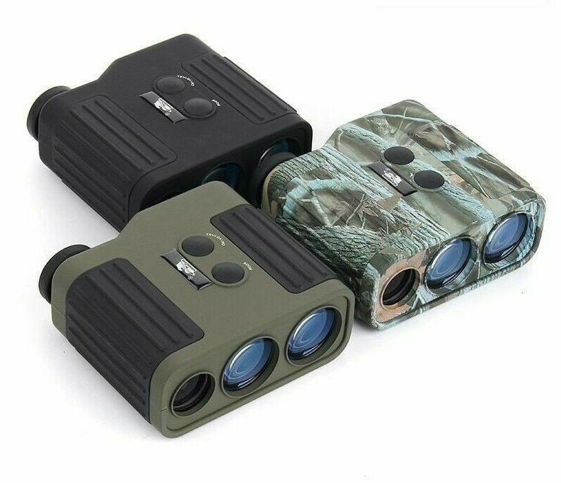 golf binocular range finder measurement 1500m distance