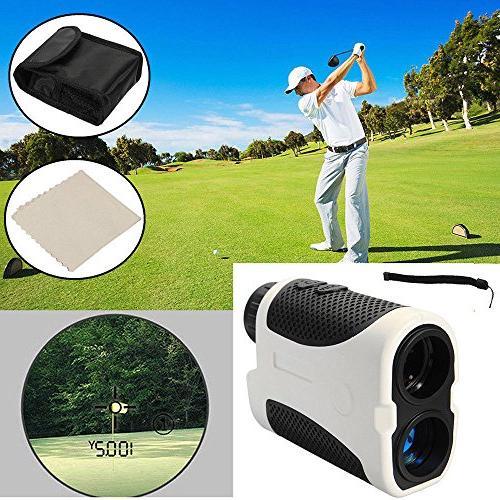 golf laser range finder angle