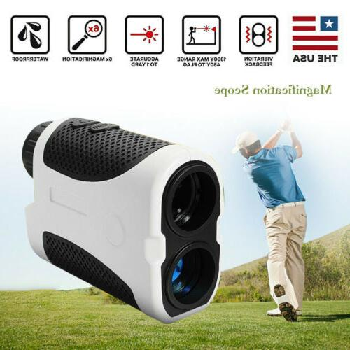 golf laser range finder w slope compensation