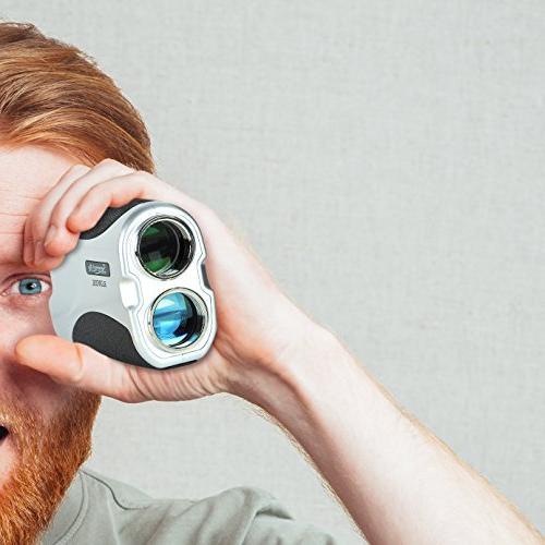 SereneLife Premium Laser Rangefinder Digital Meter - Travel Case