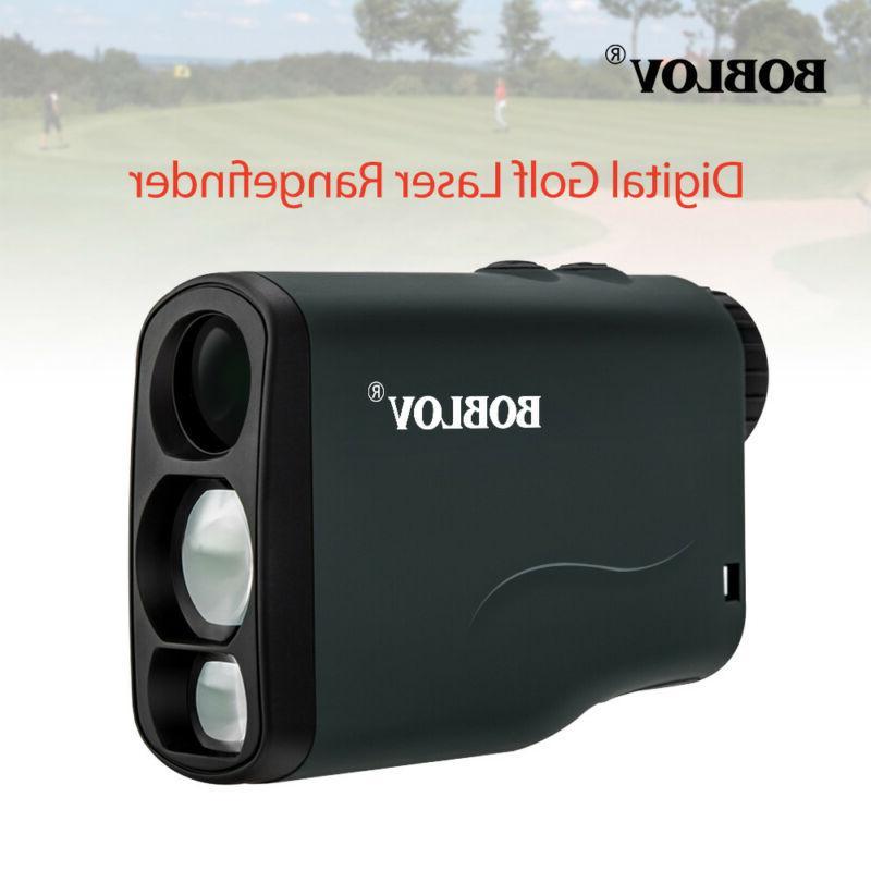 6x21 Golf Laser Rangefinder Distance Speed Measure waterproo