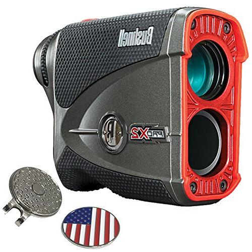 Bushnell Pro X2 Laser | with Carrying Case, Custom Ball Clip Set Batteries