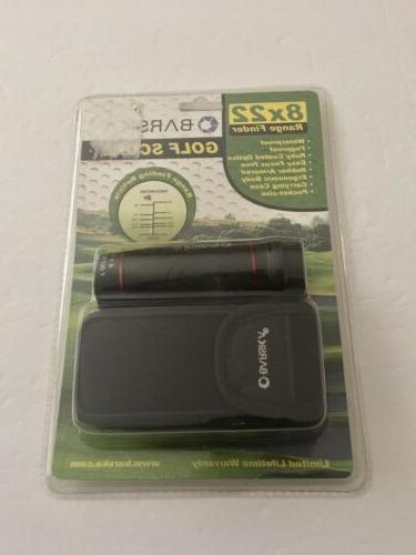 golf monocular range finder scope with case