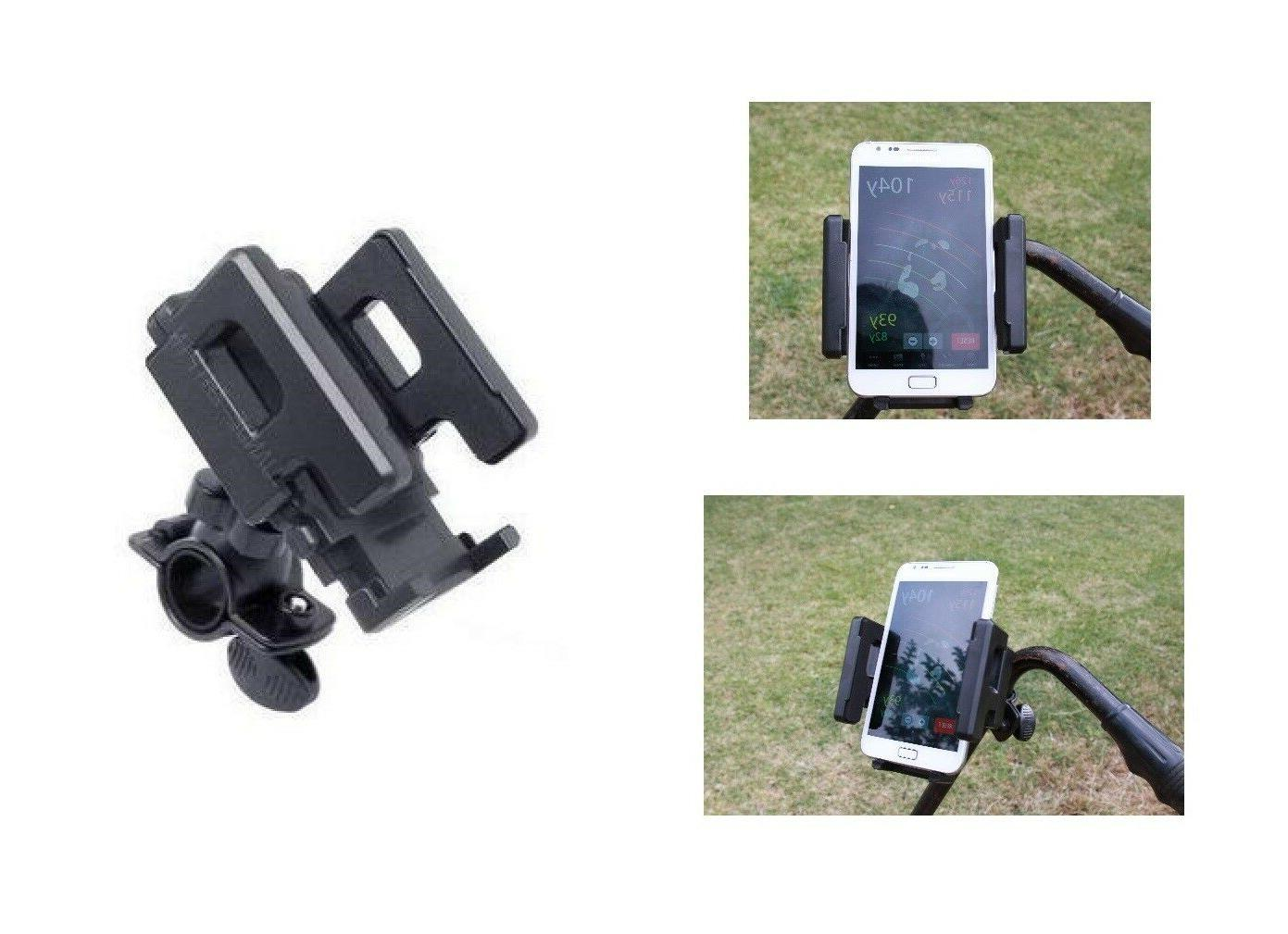 golf phone rangefinder holder cradle for buggy