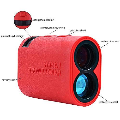 Teepao Finder - Fog Speed Weatherproof - 6X Magnification Rangefinder Hunting, Outdoor