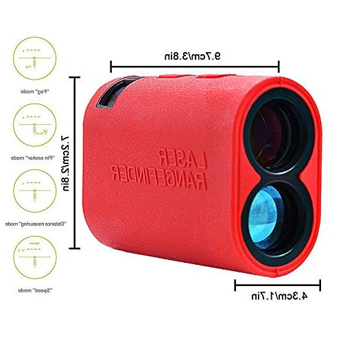 Teepao 600m Finder Mode - Fog Mode Speed - Weatherproof Rangefinder for Golf, Outdoor Using