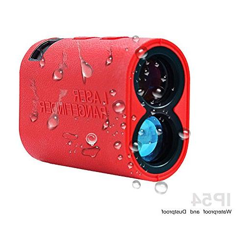 Finder - Speed Measurement Weatherproof 6X Rangefinder Golf, Hunting, Outdoor