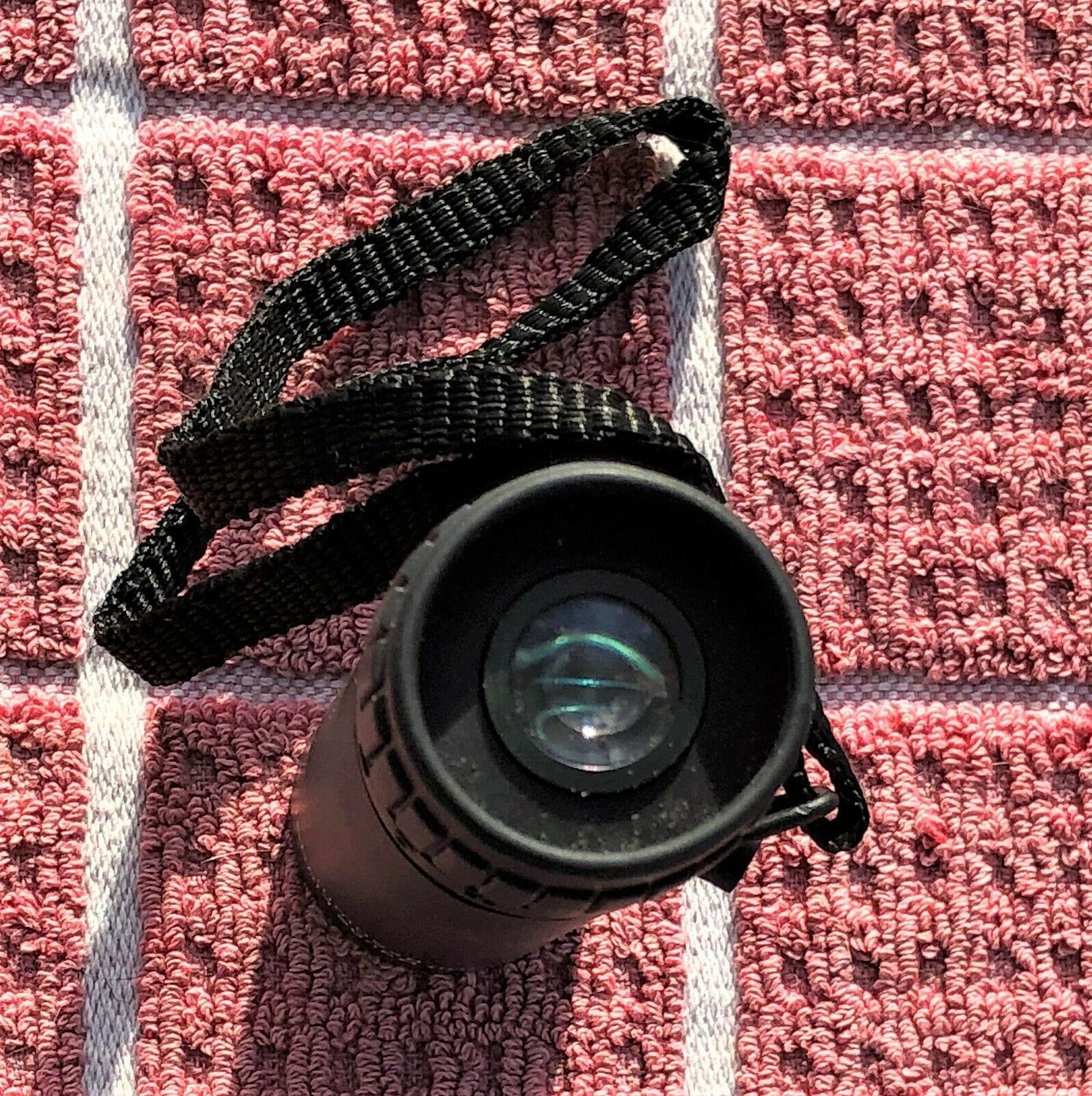 Golf Range Finder 8x20mm Adjustable with Case Pocket Compact