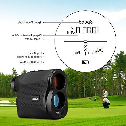 SUAOKI Golf Finder Laser Distance,