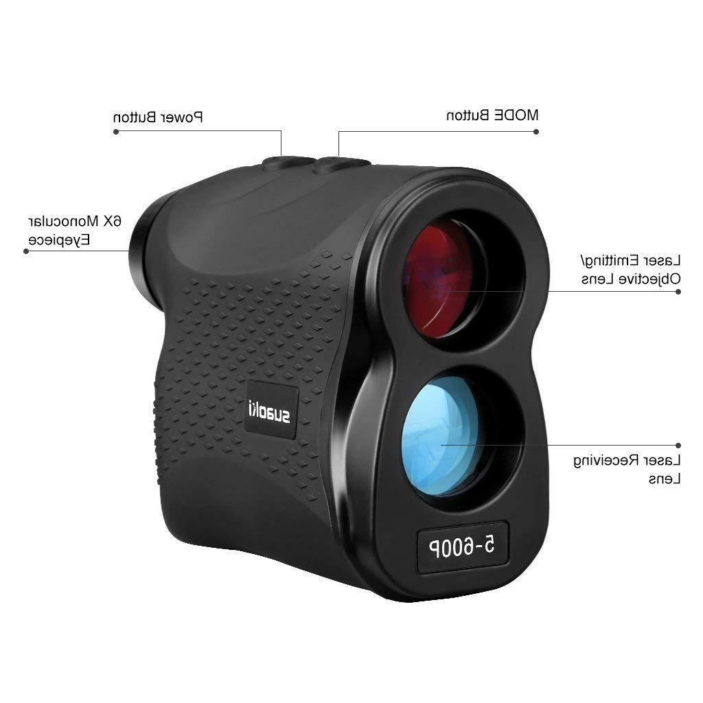 Golf Range Finder Sport Optics Meters Flag-Lock