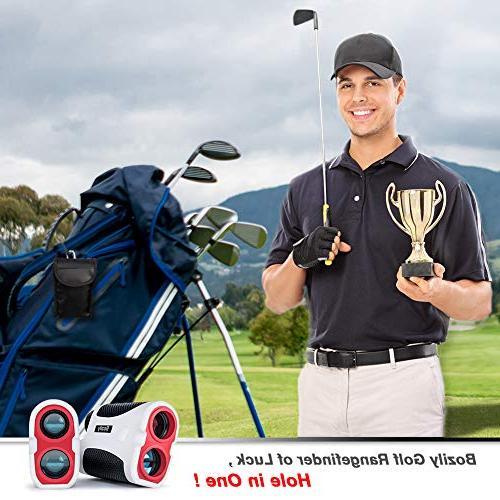 Bozily Golf Rangefinder, Laser Finder Yards, Slope 4 & Fog Resistant Golf Rangefinder