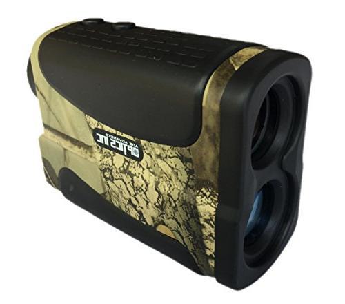 Rangefinder Hunting with PinSeeker Binoculars, Camouflage