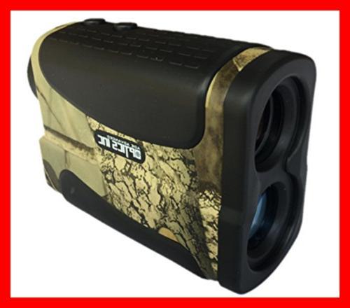Golf Rangefinder Hunting Range Finder W Pinseeker Laser Binoculars