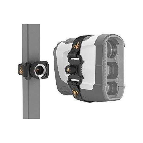 golf rangefinder latch it golf cart attachment