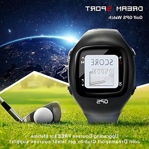SKARLIE Golf Watches Card GPS Course DGF2