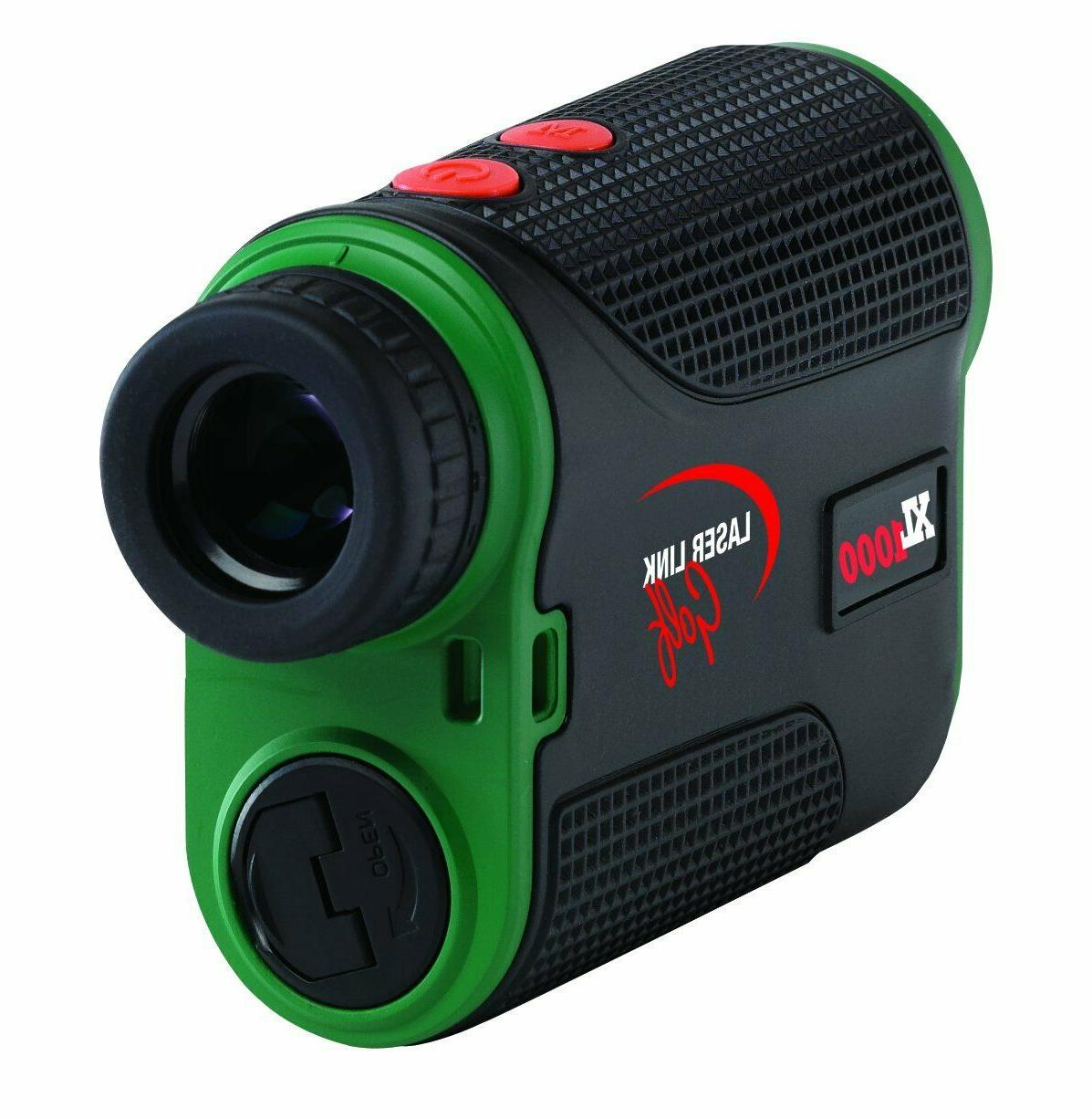 golf xl1000 laser golf rangefinder open box