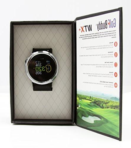 GolfBuddy GB9 WTX+ Golf
