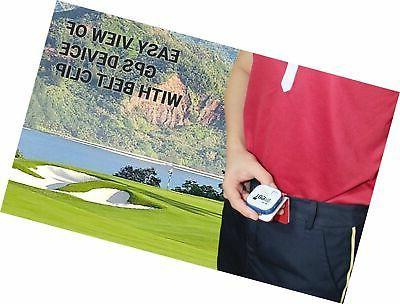 GolfBuddy X GPS/Rangefinder Bundle Belt 5 Ball 1...