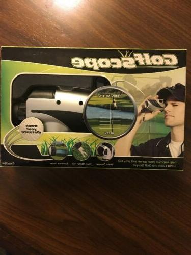golfscope with distance finder excalibur electronics