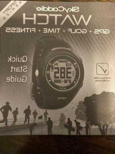 SKYCADDIE GPS GOLF Sports Series Complete New in