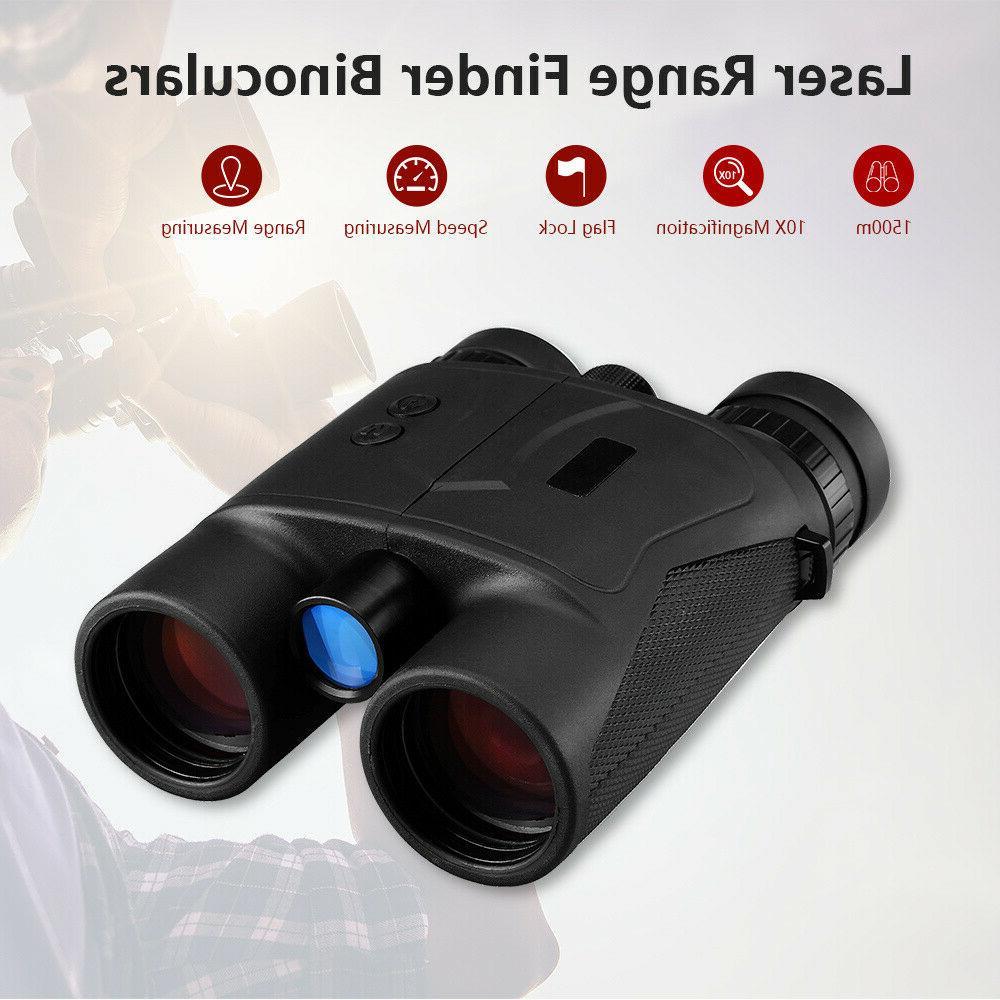 Handheld 10x42 1500M Finder Binoculars Range Measuring For