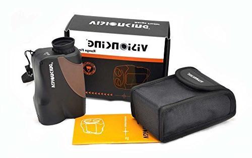 Visionking Finder Laser Rangefinder for Golf & 1000 Yards