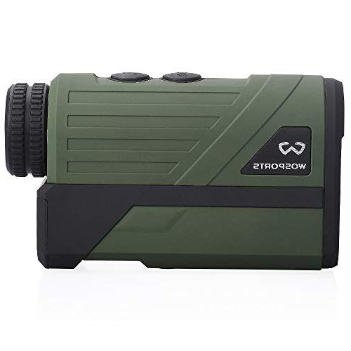 Wosports Upgraded Battery Cover Laser Rangefinder Archery Hunting Ranging, Speed Battery
