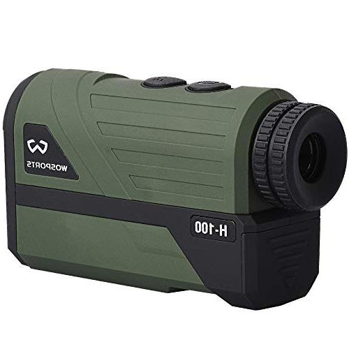 Wosports Hunting Finder, Upgraded Laser Archery Hunting Speed