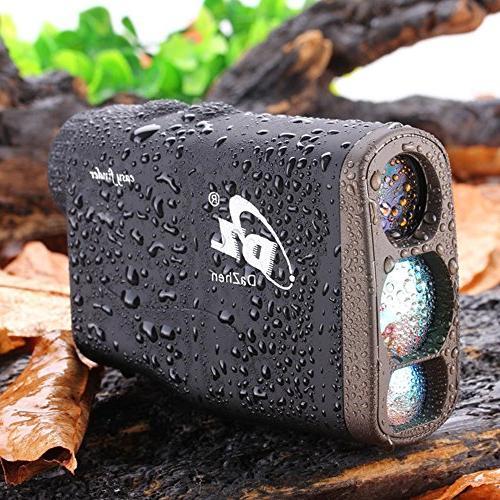 DaZhen Laser Yards Rangefinders With Distance, Pole locking, Fog Shooting Monocular.