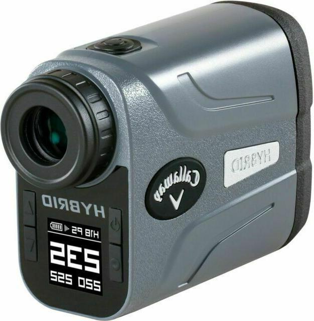 hybrid laser gps golf rangefinder