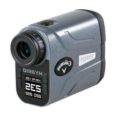 hybrid laser gps rangefinder
