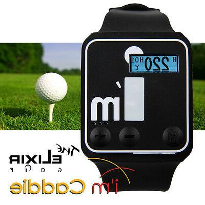 The Elixir Golf i'm Caddie Golf GPS Watch Dual Series Easy C