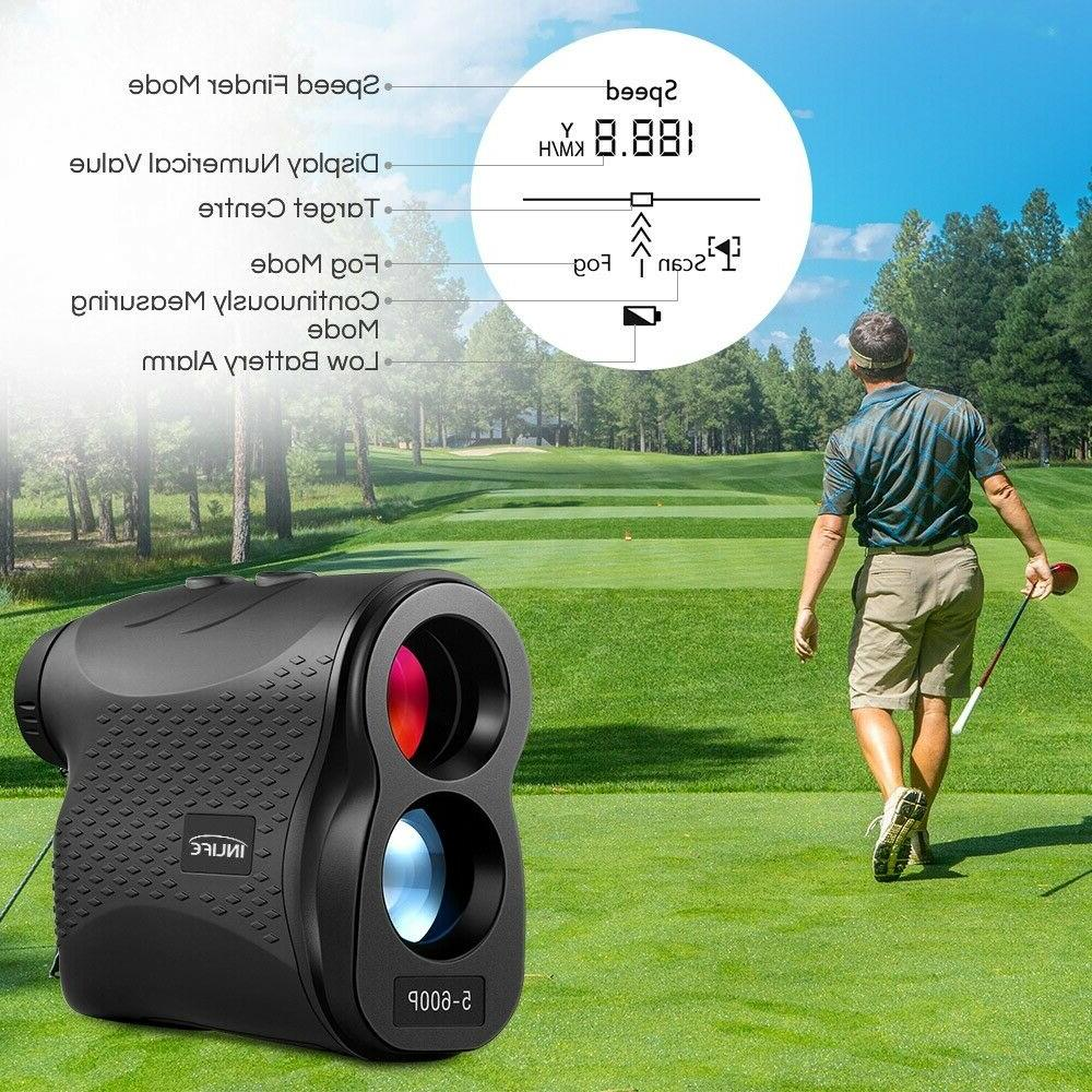 600P Laser Distance Meter Monocular Golf Range Finder