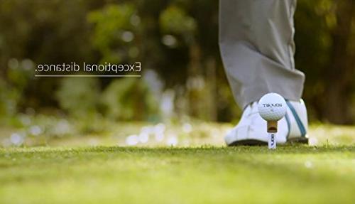 GolfJet JET3 | One Dozen Premium JET3 Golf Balls. Core, 338 Hex Longer More Game for Control.