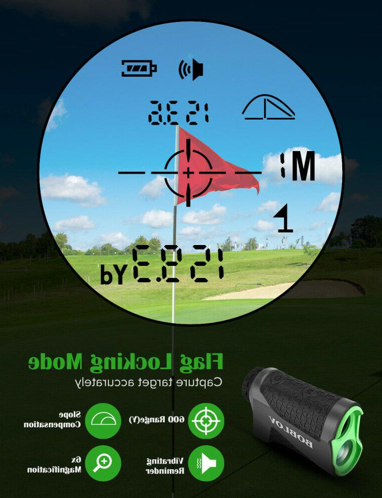 BOBLOV Yards Laser Range Finder Slope Jolt